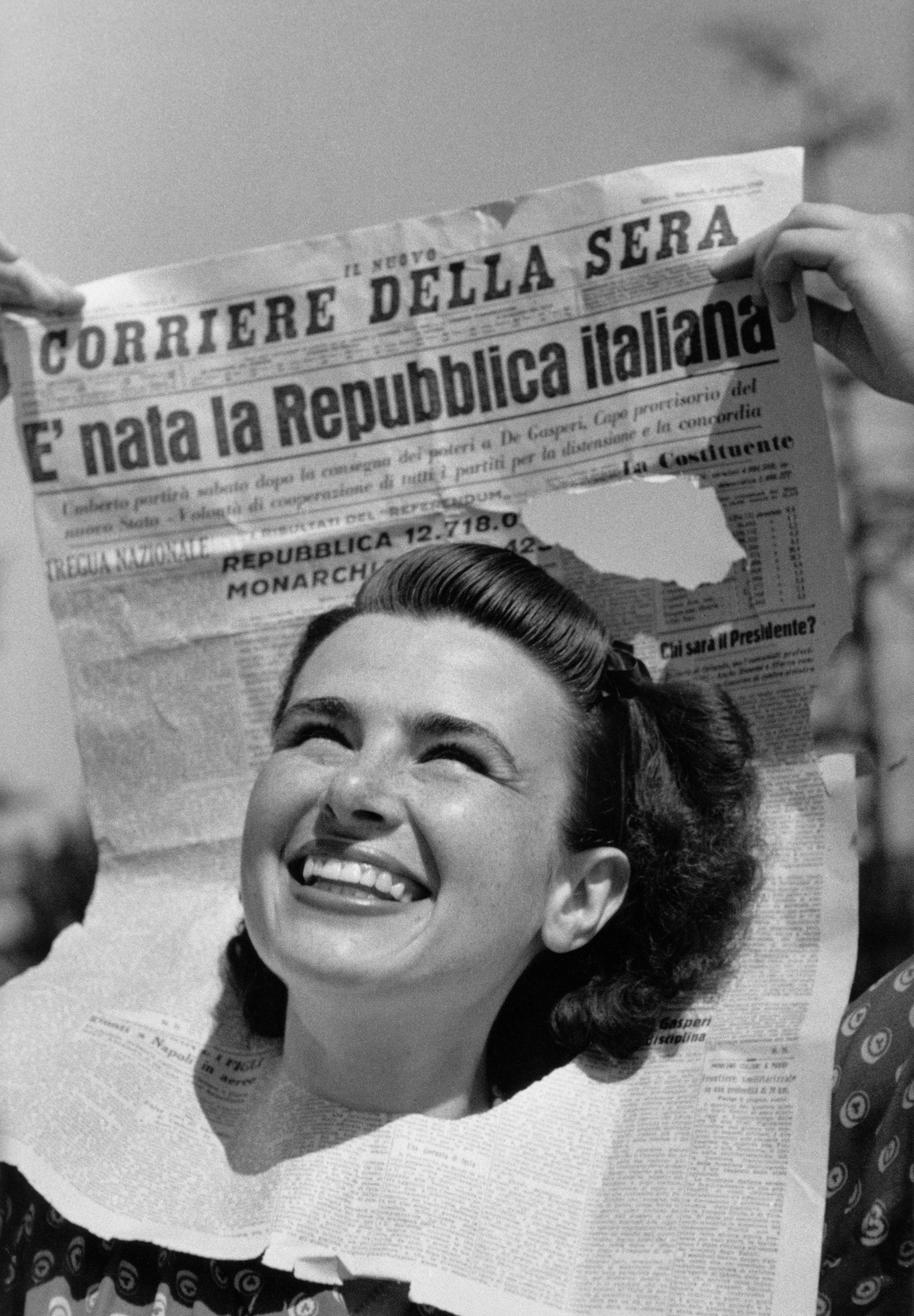 La guerra è finita. Nasce la Repubblica. Le fotografie di Federico Patellani in mostra a Milano