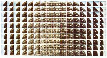 Maurizio Galimberti mostra paesaggio Italia colosseo