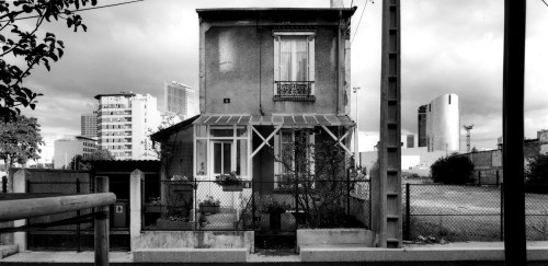 foto parigi bianco e nero