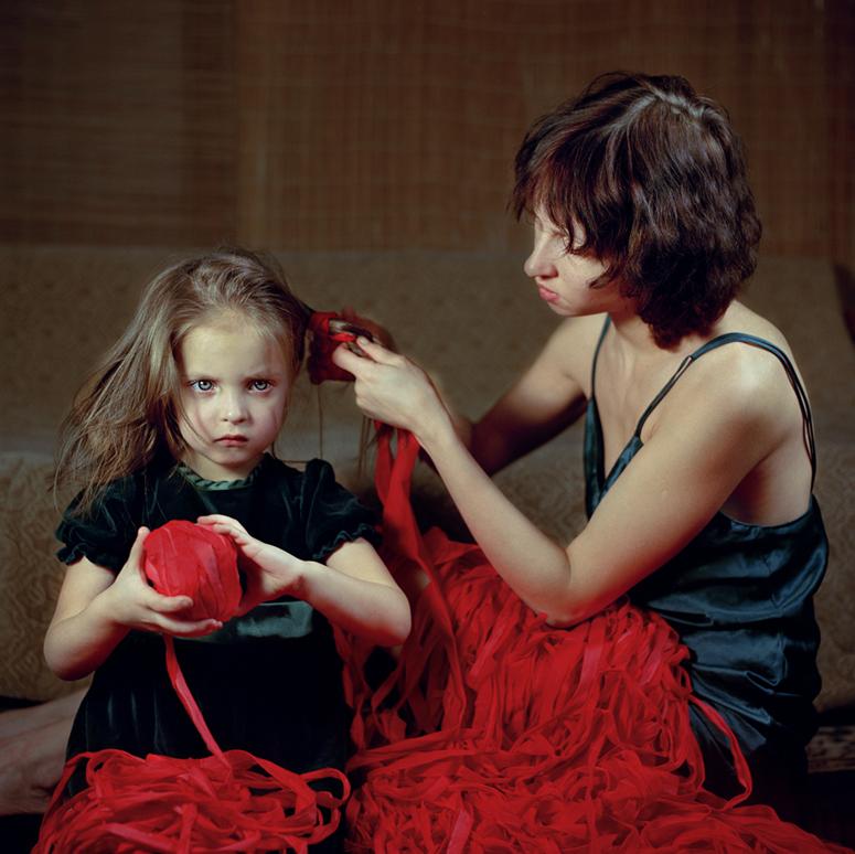 R_Viktoria Sorochinski, Exchanging Wisdom, Montreal 2006, © Viktoria Sorochinski