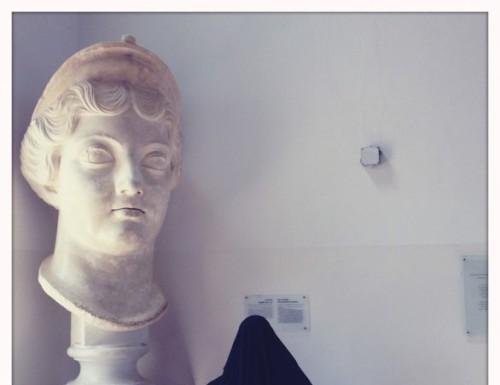 de luigi odissea iphone fotografia statua