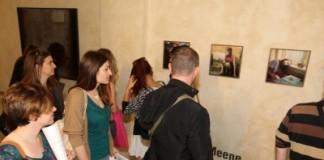 gente all'inaugurazione delle mostre di fotografia europea 2013 a reggio emilia