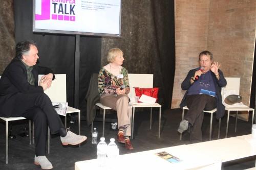 Ginevra Bompiani dialoga con David Riondino