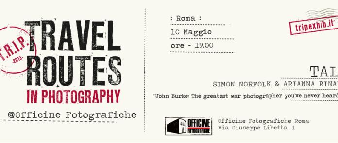 travel router in photography evento con simon norfolk officine fotografiche roma locadina