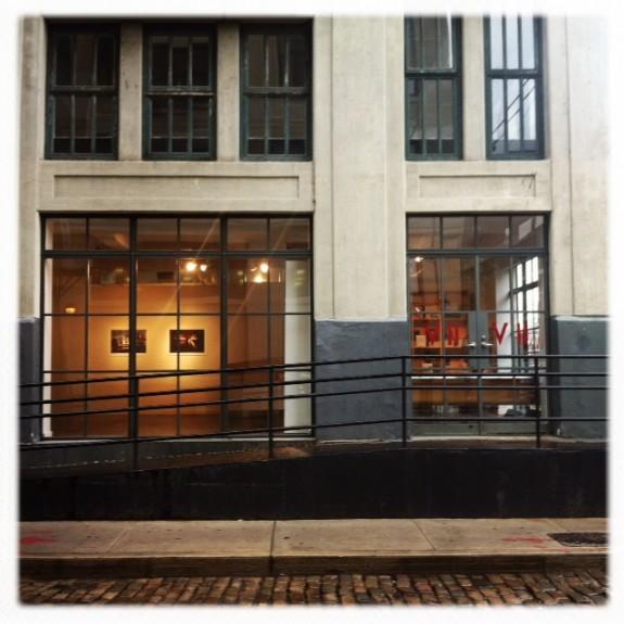 La sede dei corsi alla VII Photo Agency and Gallery in Dumbo, Brooklyn