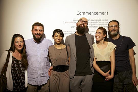foto di gruppo summer show mostra studenti fotografia modena