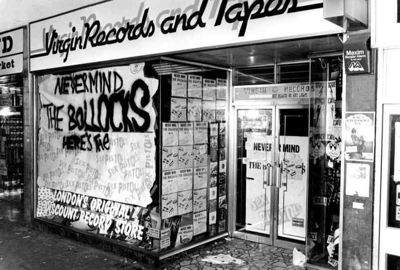 Barry Plummer Virgin Shop