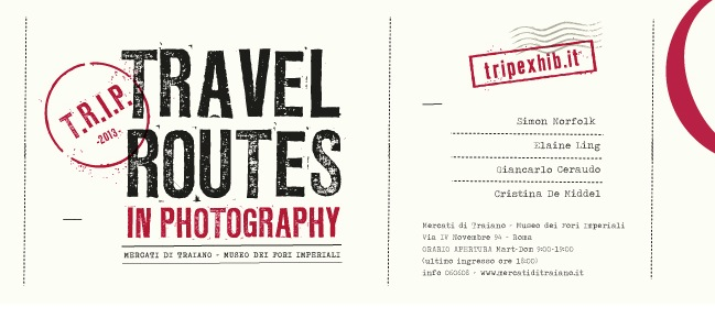 Travel Routes in Photography locandina mostra