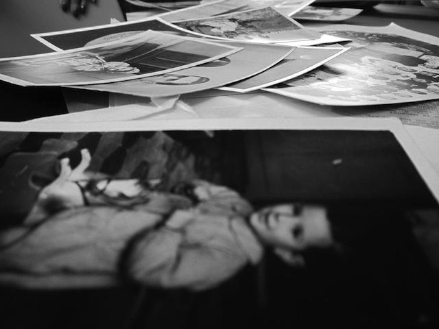 una selezione di fotografie, foto tratta dal sito del progetto Foresta Bianca