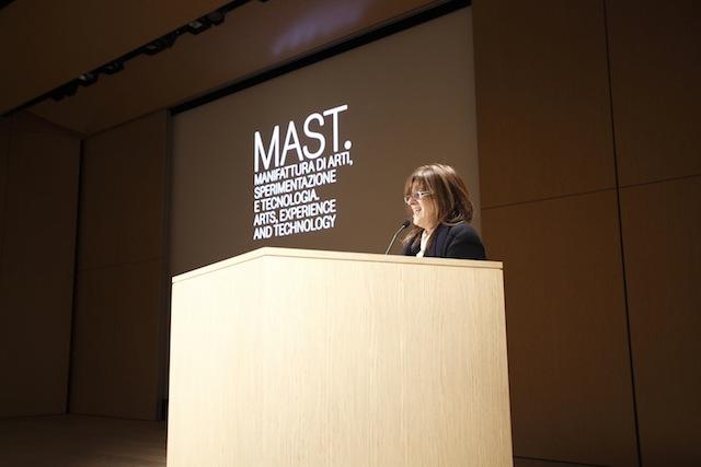 uno dei momenti dell'inaugurazione di Mast