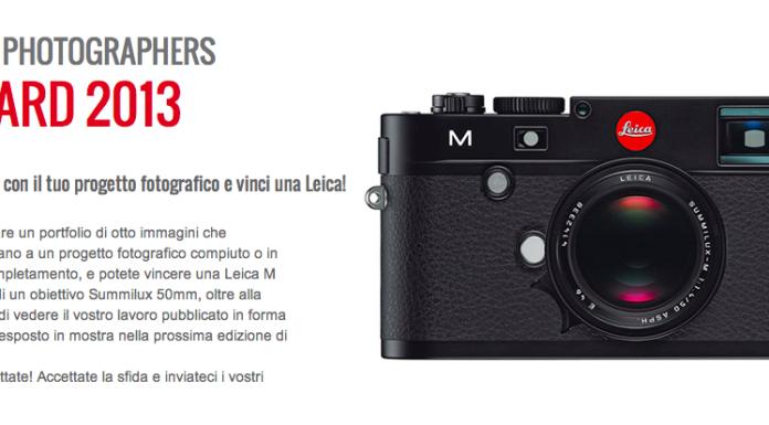 Leica Photographers Award 2013 locandina