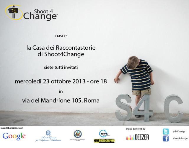 spazio no profit Shoot 4 Change inaugurazione roma