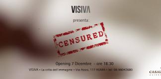 mostra Censured a Visiva locandina