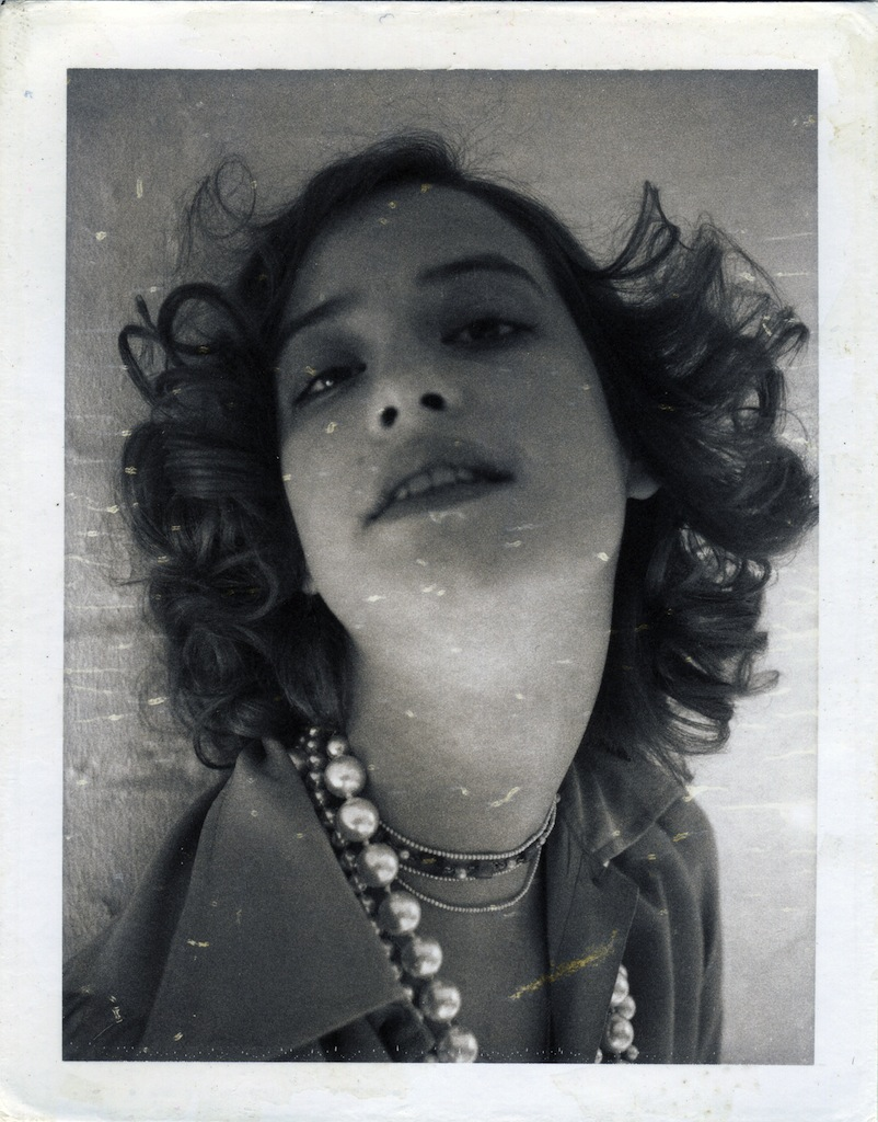 Robert Mapplethorpe Nicky Waymouth 1973, Polaroïd New York, Fondation Robert Mapplethorpe © Robert Mapplethorpe Foundation. Used by permission