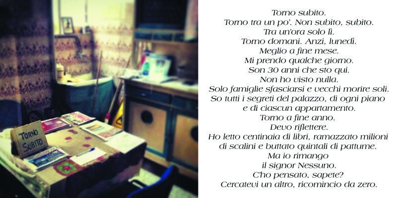 Elisabetta Pina, Portineria di via Paolo Sarpi - Milano