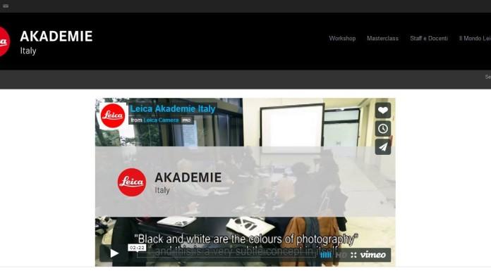 Leica Akademie in italia