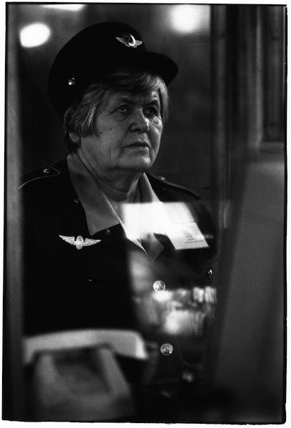 Olga Chernysheva On duty, 2007 Courtesy of DIEHL Berli