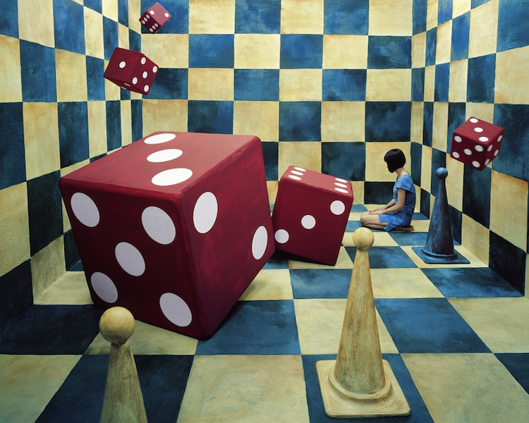 neverending race copyrighted to JeeYoung Lee by courtesy of OPIOM Gallery