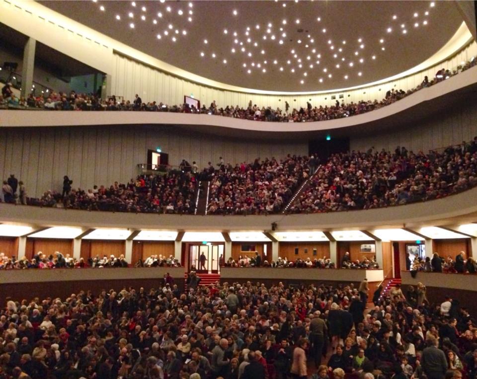 Un'immagine del teatro fiorentino (ph fb)