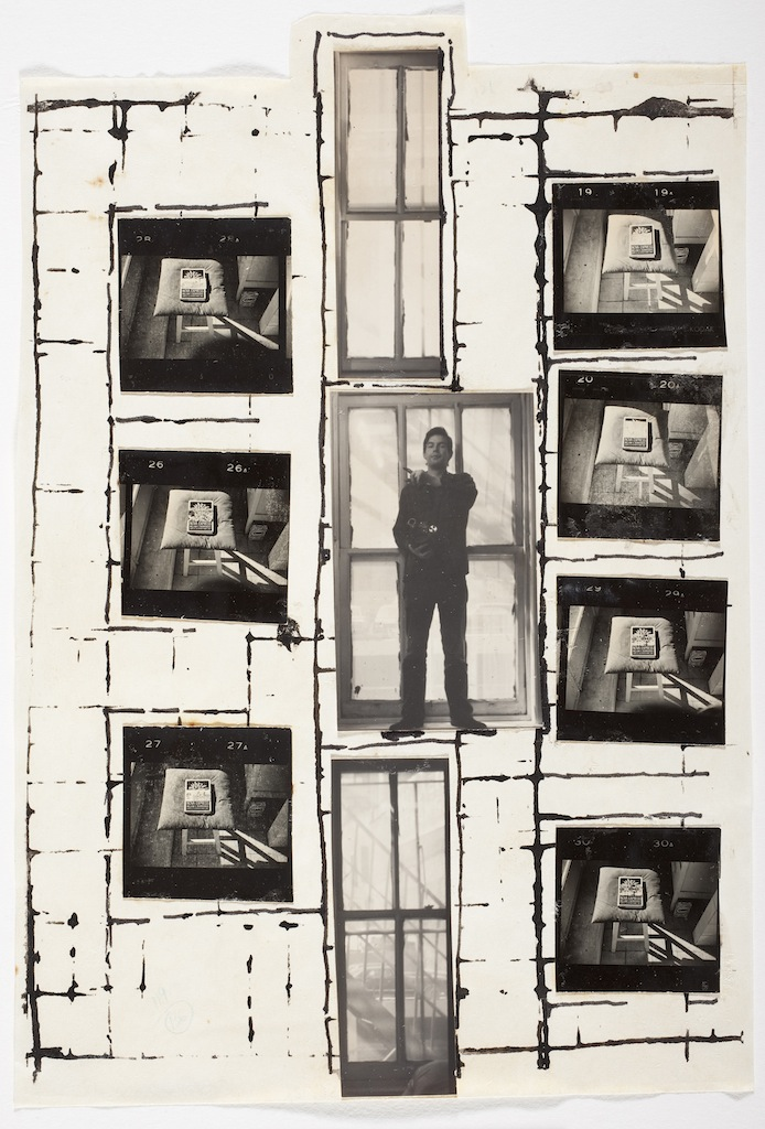 William S. Burroughs and Brion Gysin Untitled, 1965 Silver gelatin prints and ink on paper, 25.4 x17.15 cm © Estate of William S. Burroughs Courtesy of the Los Angeles County Museum of Art