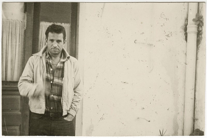 William S. Burroughs Jack Kerouac, Tangier, 1957 Silver gelatin print, 9.5 x 6.3 cm © Estate of William S. Burroughs Courtesy of the Barry Miles Archive