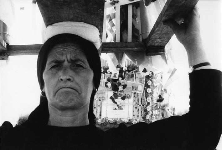 Lello Mazzacane. Processione alla Modonna del Pollino, 1973