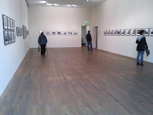 Una delle sale alla Photographers' Gallery