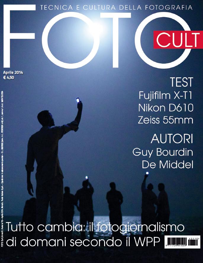 La copertina del mese di aprile 2014