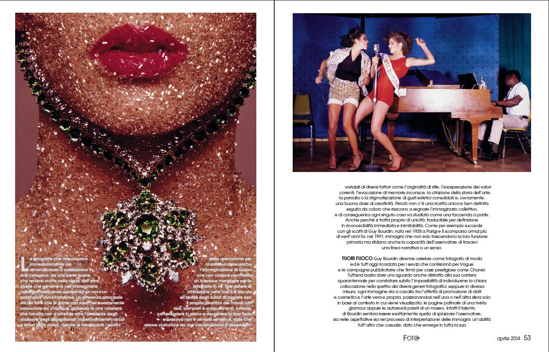 Una delle pagine interne della rivista