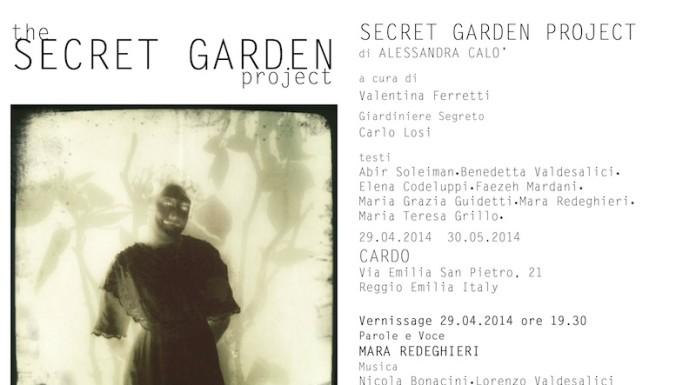 alessandra calò mostra secret garden