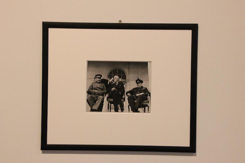 Un'altra delle immagini in mostra alla galleria civica