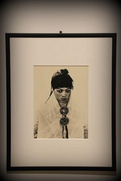 Uno degli scatti in mostra alla galleria civica