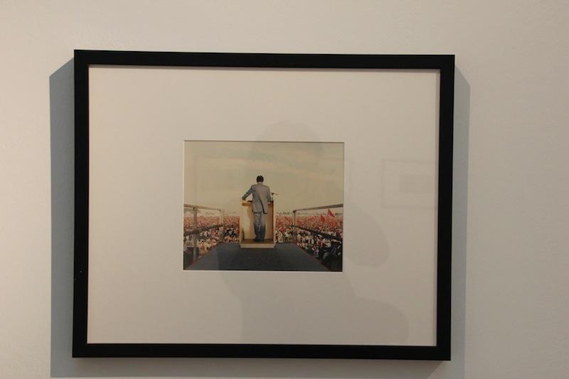 Una delle foto in esposizione, di Luigi Ghirri