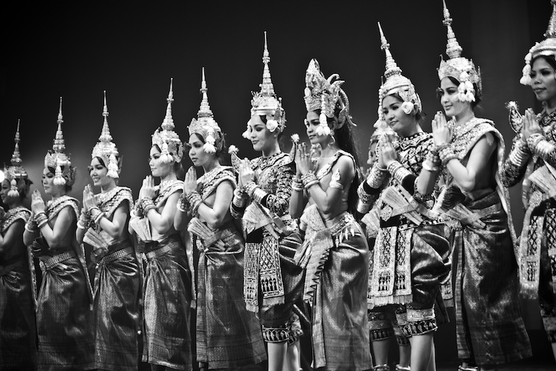 Il Balletto Reale di Cambogia, patrimonio culturale immateriale dell'umanità UNESCO.