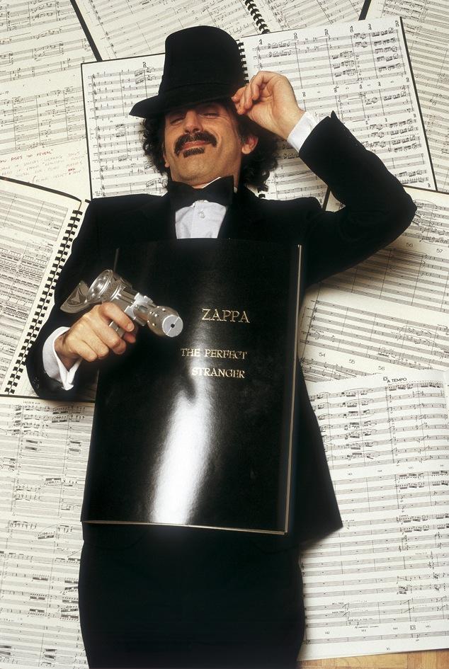 Guido Harari - Frank Zappa © Guido Harari / Wall of Sound