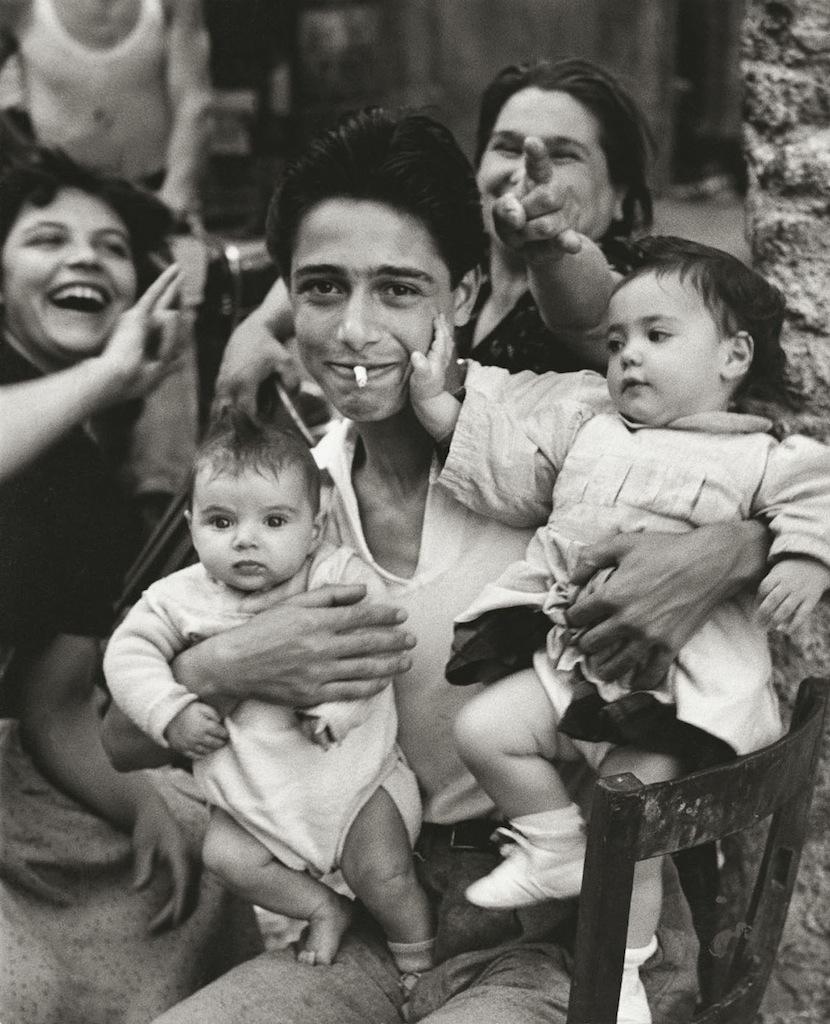Il corneo Der Gehörnte Trastevere Rome Italy 1951 © Herbert List Magnum Photos