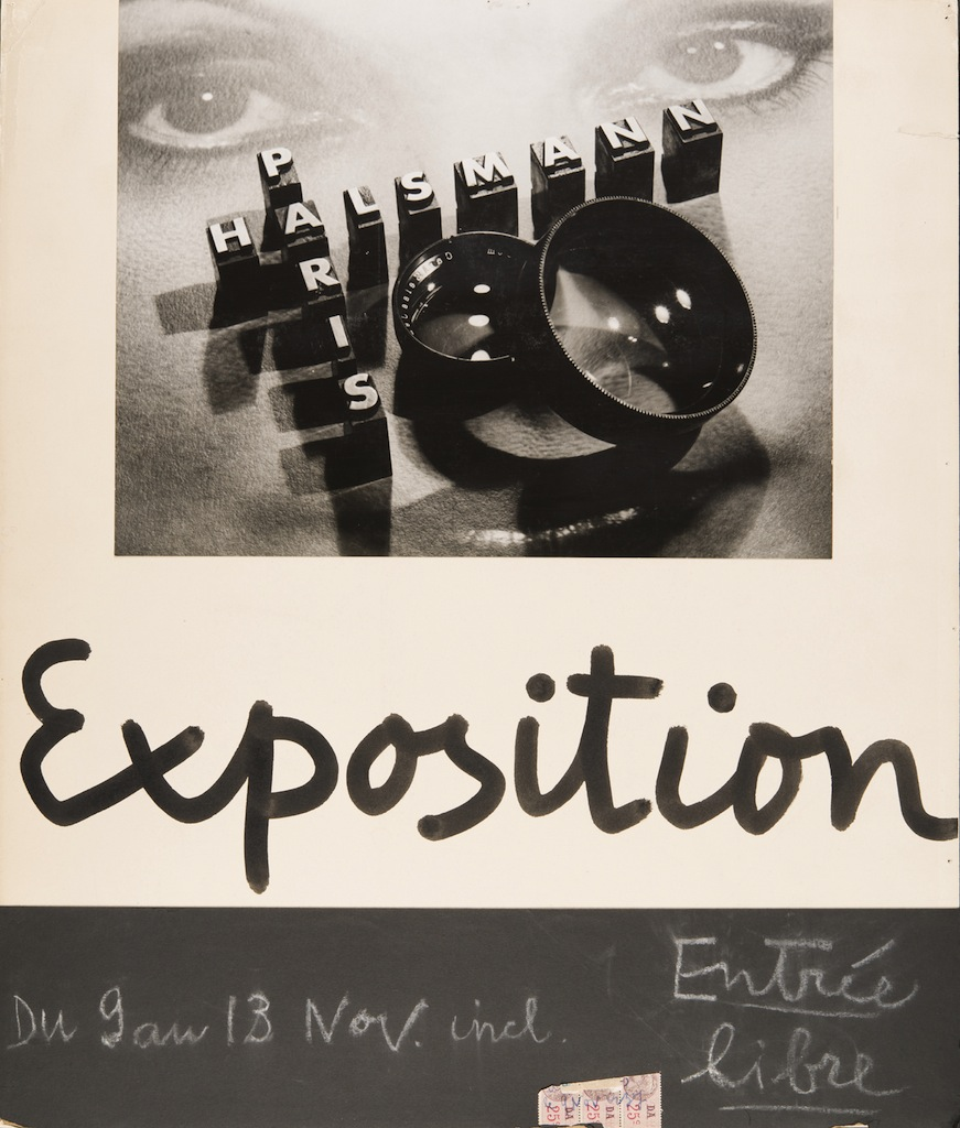 Philippe Halsman, Poster for the exhibition Portraits and Nudes at La Pléiade gallery Philippe Halsman Archive © 2013 Philippe Halsman Archive / Magnum Photos