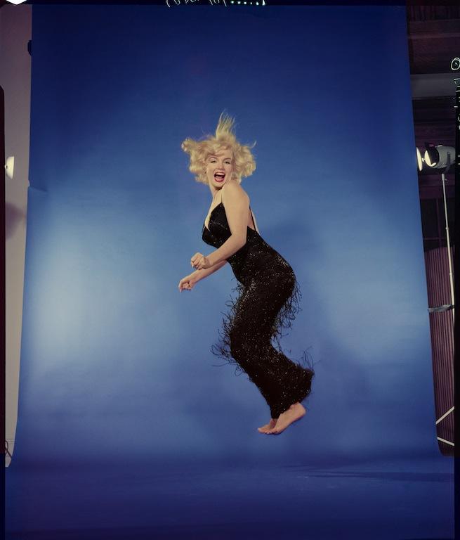 Philippe Halsman, Marilyn Monroe, 1959. Musée de l'Elysée © 2013 Philippe Halsman Archive / Magnum Photos