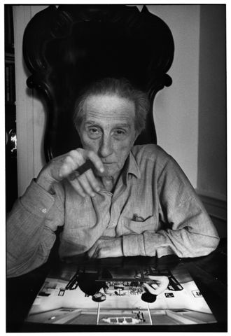 Ugo Mulas Marcel Duchamp, New York, 1967 Fotografie Ugo Mulas © Eredi Ugo Mulas. Tutti i diritti riservati Courtesy Archivio Ugo Mulas, Milano - Galleria Lia Rumma, Milano/Napoli