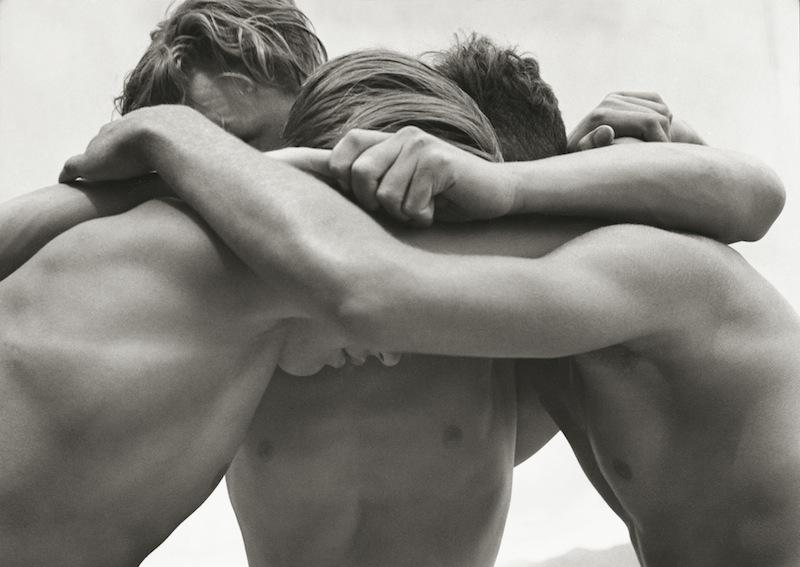 Wrestling boys at the Baltic Sea, Germany 1933 ©Herbert List Magnum Photos
