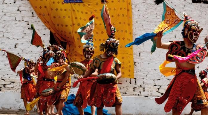danze rituali tibet mostra al Museo di storia naturale di Venezia
