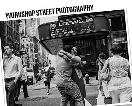 Street photography workshop del collettivo Spontanea