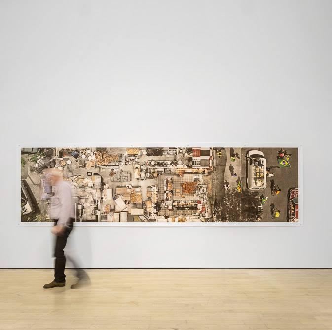 Perduti nel paesaggio Lost in Landscape. Installazioni al Mart. Photo di Fernando Guerra