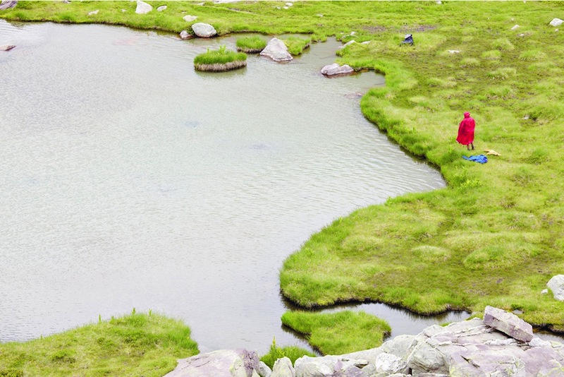 Mario Daniele (Paola Sosio Contemporary Art, Milano) Quel sentiero per il lago #4, 2012, stampa Fine Art Giclée, carta cotone Museum Hahnemuhle dibond, cornice in legno, plexiglass, 60 x 80 cm