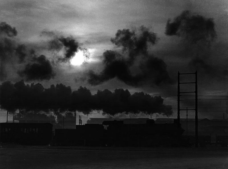 Stefano Robino, Ferrovia Torino - Milano nella periferia di Torino, cm 30 x 39,7