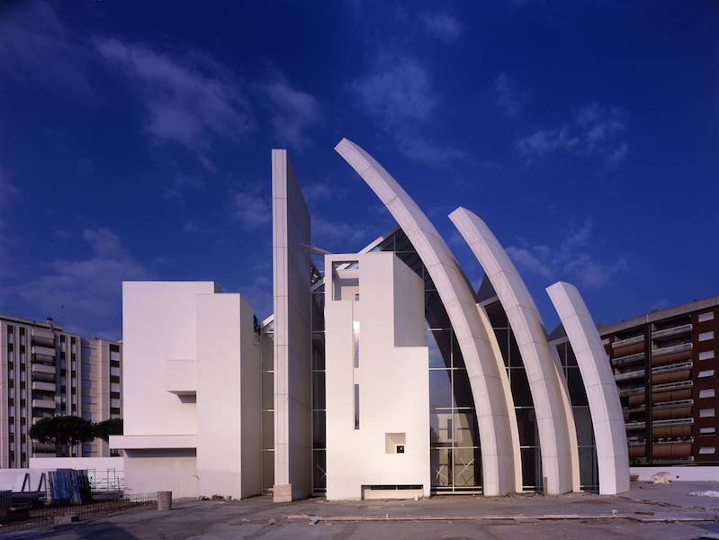 Andrea Jemolo, Chiesa di Dio Padre Misericordioso a Tor Tre Teste, 2006
