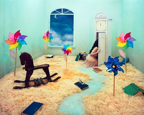 JEEYOUNG LEE Childhood Pigment print edition of 5 ex. 96 x 120 cm Jee Young Lee / OPIOM Gallery