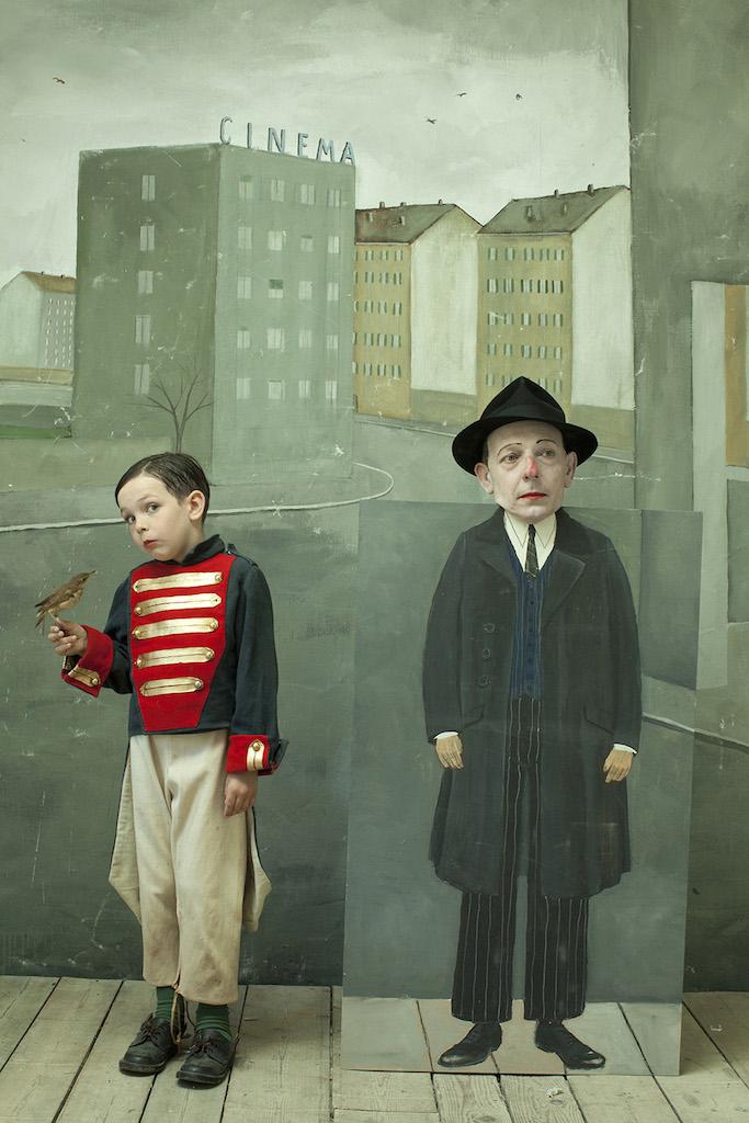 Homage a Saul Steinberg, 2014 Paolo Ventura