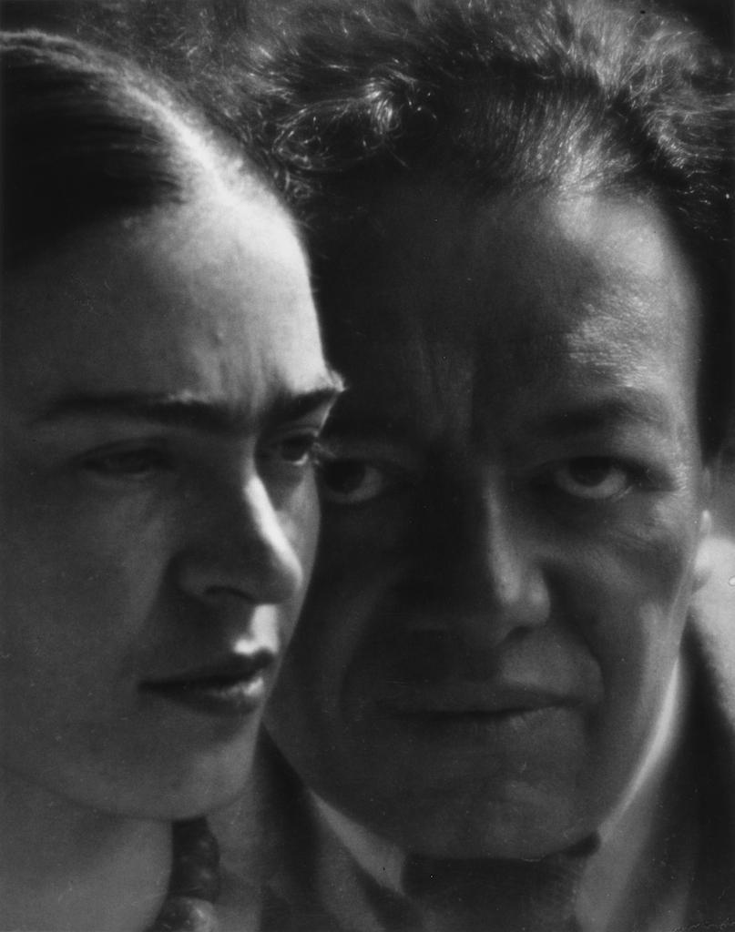 Martin Munkacsi. Diego e Frida, 1934. Stampa in gelatina d'argento, Cuernavaca, The Jacques and Natasha Gelman Collection of 20th Century Mexican Art