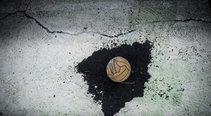 Materiale-Valore-Immateriale progetto sul riuso foto pallone